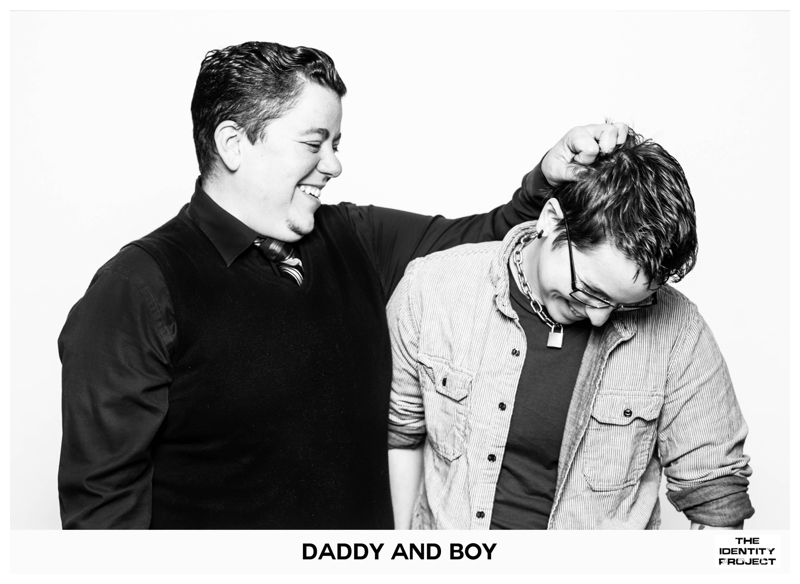 "The Identity Project: ""Butch daddy poet"" and ""Genderqueer leather boy"""