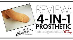 Review: 4-in-1 Natural—Pack, Pee, Play, & Pleasure from FreeToM Prosthetics