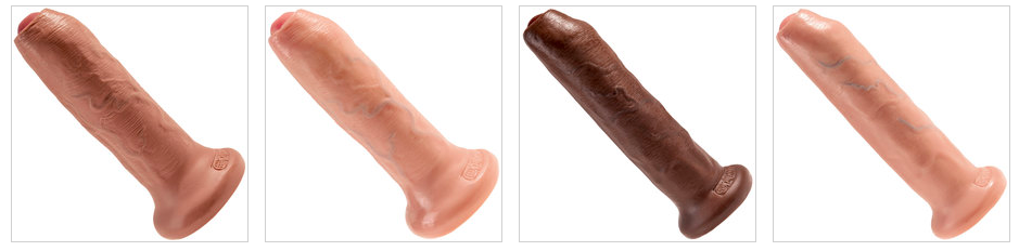 King Cock in different sizes and colors