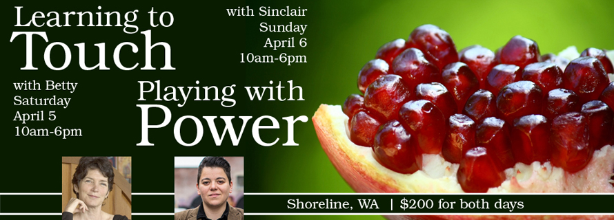 """Ready to explore """"embodiment""""? Three workshop offerings in Seattle & San Francisco in March & April"""