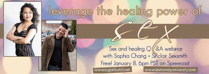 """""""Healing comes through sex."""" Sinclair Sexsmith interviews Sophia Chang"""