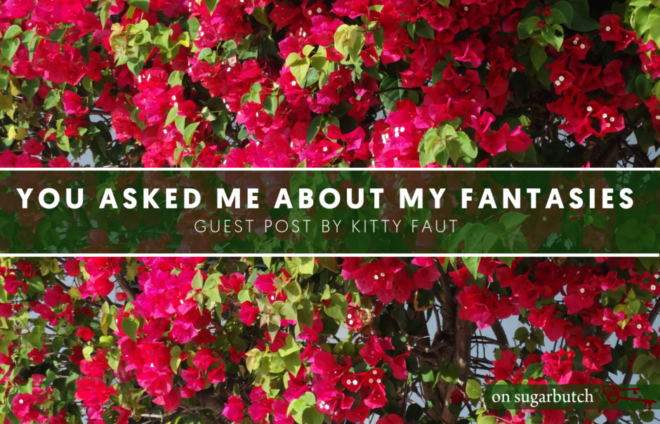 You Asked Me About My Fantasies, Guest Post by Kitty Faut
