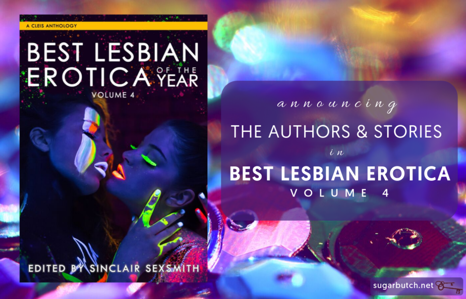 Table of Contents for Best Lesbian Erotica Volume 4 (2020)